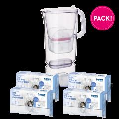 1 jaar Soft Filtered Water Extra pack + AQUAlizer