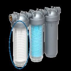 Bokaal transparant voor PLUVIO 500 HYGIENE met dichting